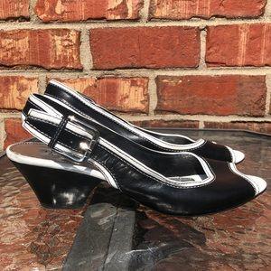 Franco Sarto small heel sandal